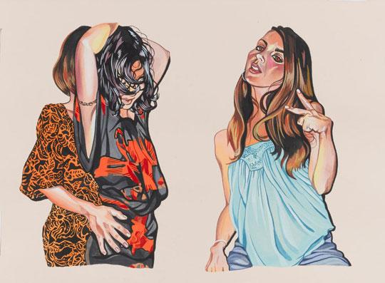 Leah Tinari art