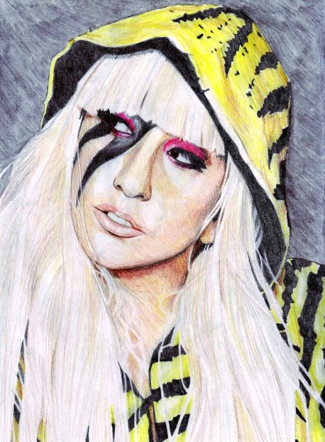 lady gaga painting