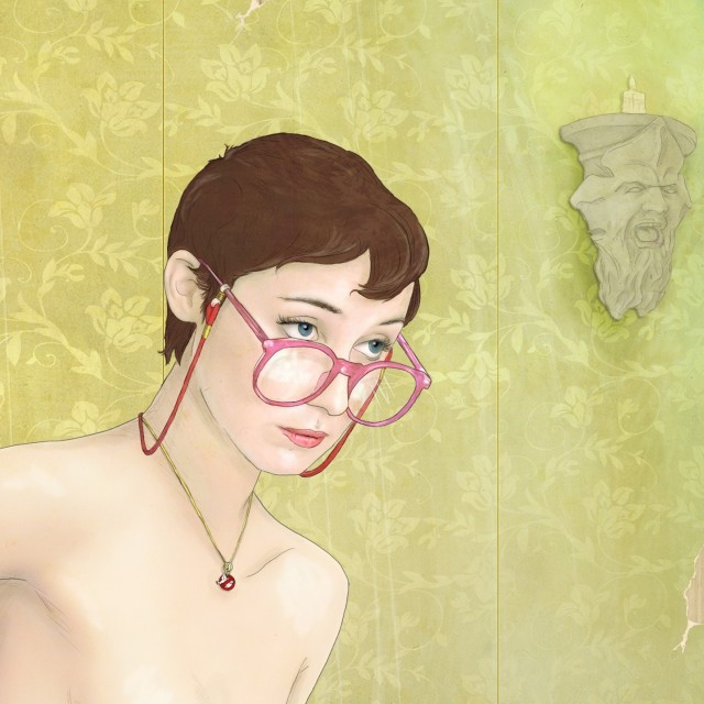 Keith P. Rein sexy girls paintings