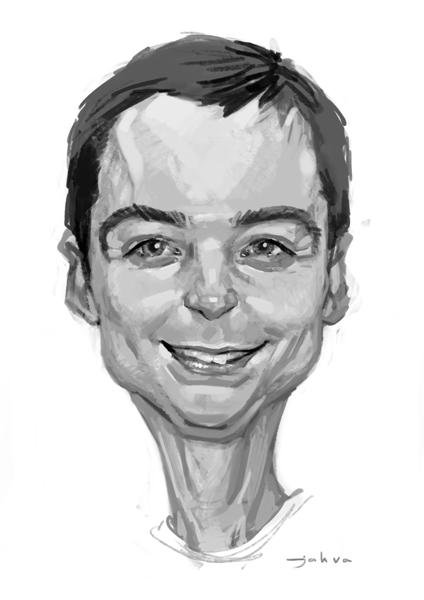 Sheldon Cooper Jim Parsons paintings
