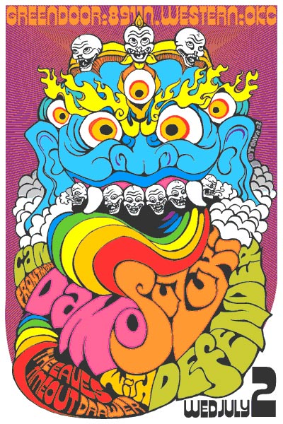 psychedelic poster art