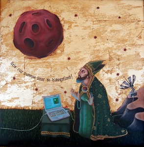 jason hernandez modern byzantine psychedelic art