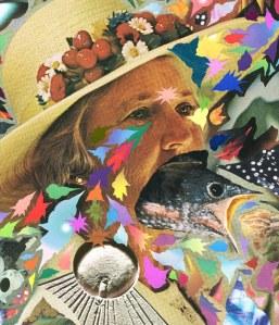 Hisham Akira Bharoocha psychedelic collage