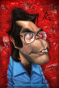 anthony geoffroy Caricature stephen king