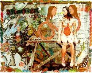 dex fernandez psychedelic collage art