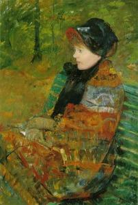 Impressionism painting Mary Cassatt Autumn 1880