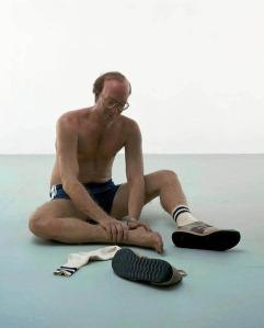 jogger sculpture