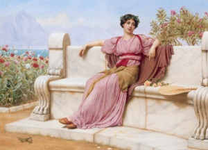 John William Godward Neoclassicism painting