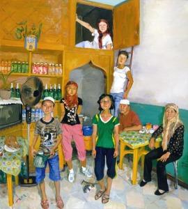 Liu Xiaodong painting