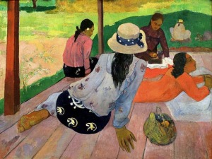 Paul Gauguin post impressionism paintings