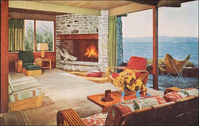 50 Brilliant Living Room Decor Ideas In 2019: 50s Interior Design