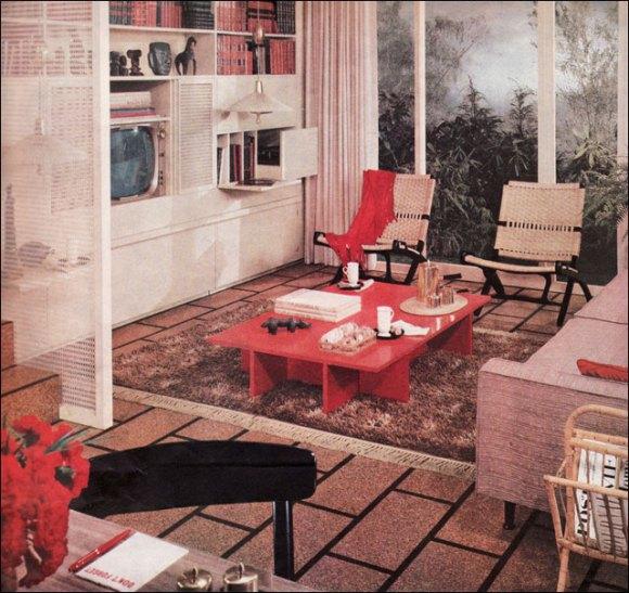 50s interior design  SummerMIXTAPE