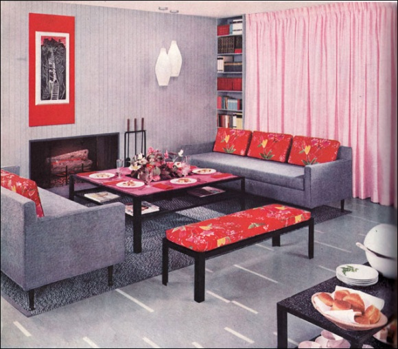 50 Brilliant Living Room Decor Ideas In 2019: 50s Interior Design