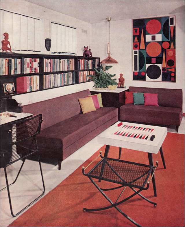 50s interior design summermixtape - 1950 s living room decorating ideas ...