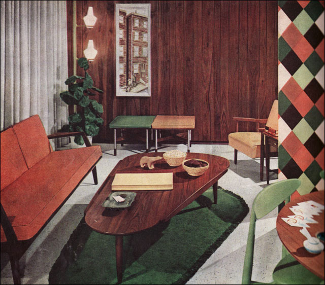 50s interior design summermixtape for Classic american decorating style