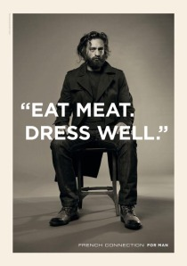 eat meat dress well