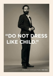 do not dress like a child