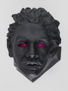 led eyes statue