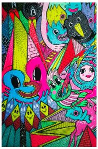 hattie stewart psychedelic art