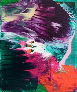 theo altenberg colorful abstract oil painting