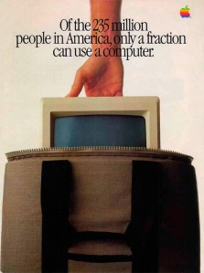 retro computer ads from the 70s and 80s