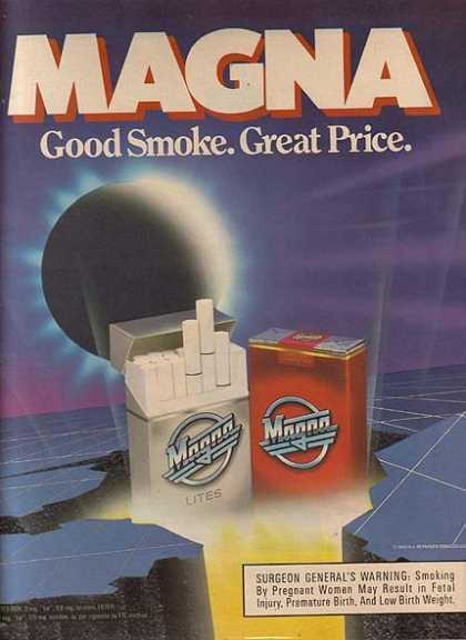 vintage ciggarete Tobacco advertisements
