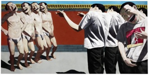 Yue Minjun chinese contemporary art