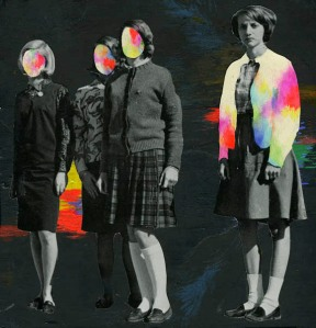 psychedelic collage